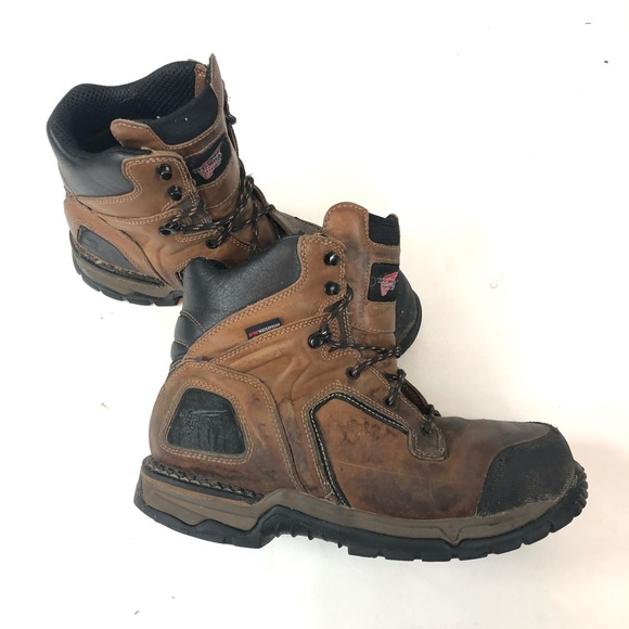 Red Wing Work Boots 11 Flexforce Toe